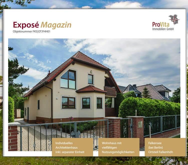 Immobilien Expose als online Katalog