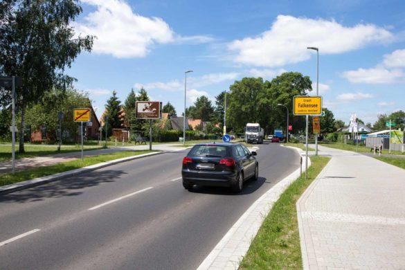 Ortseingang Stadt Falkensee